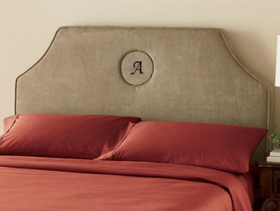 Head of State Monogrammed Headboard