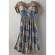 georgia lace shoulder dress