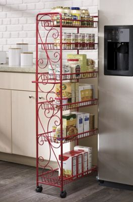 scrolled rolling pantry from seventh avenue dw703752