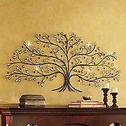 Jeweled Tree of Life Art