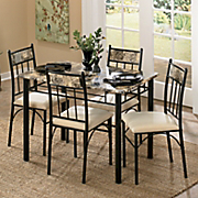 5 piece ansdell dining set
