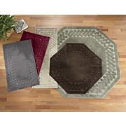 herringbone border rug