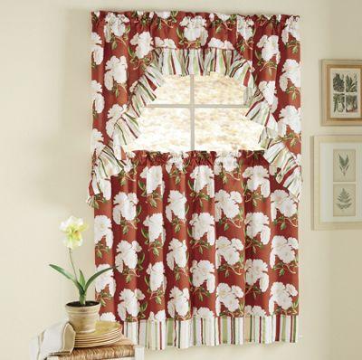 3-Piece Magnolia Curtain Set