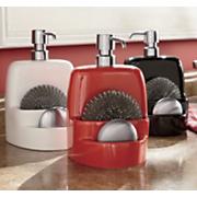3 piece soap dispenser set