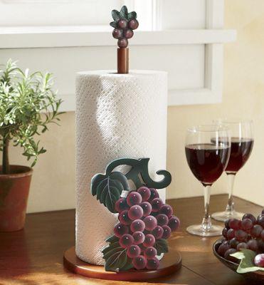 Grape Paper Towel Holder