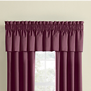 thermal rod pocket valance