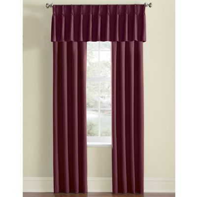 Thermal Pinch Pleat Panels and Valance