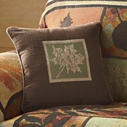autumn scenes decorative pillow