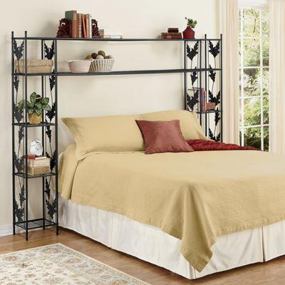 Alesa Oak Leaf Bed Shelves