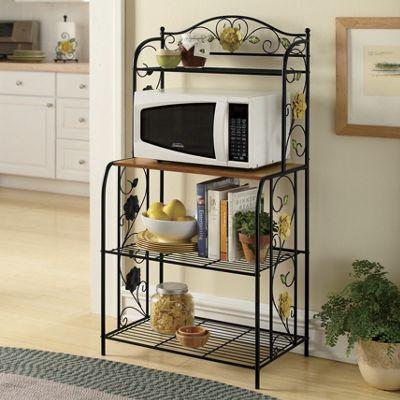 Magnolia Microwave Cart