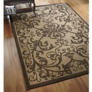 floating scroll rug 137