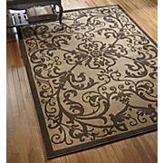 floating scroll rug 137