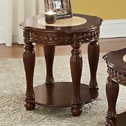 cuppucine end table