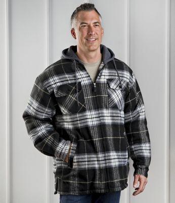 Men's Plaid Flannel Jacket