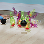 light up bowling set
