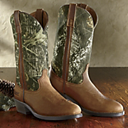 mossy oak camo boot by laredo