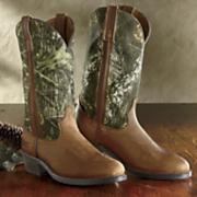 mossy oak camo boot by laredo
