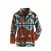 plush pueblo sky jacket