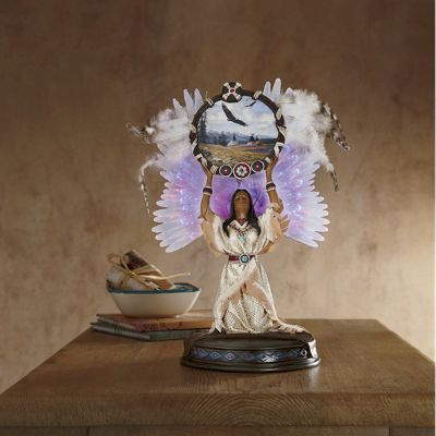 Lighted Blessings Figurine