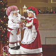 Animated Santa and Mrs. Claus