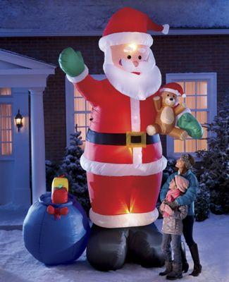 Inflatable XXL Santa