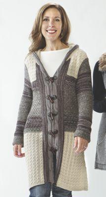 Striped Toggle Sweater