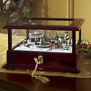 Train Showcase Lighted Music Box by Mr. Christmas