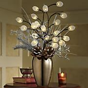lighted silver dollar arrangement 21