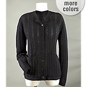 cable knit cardigan 30