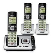 DECT 6.0 Cordless Phone with 3 Handsets