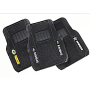 set of 2 nfl deluxe car front mats