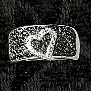 black diamond heart band