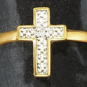 diamond cross ring 94
