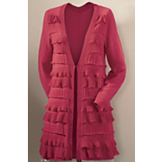 tiered ruffle cardigan 29