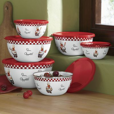 12-Piece Bon Appetít Bowl Set