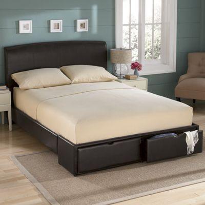 Storage-Drawer Bed