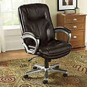 executive pillow top office chair by serta