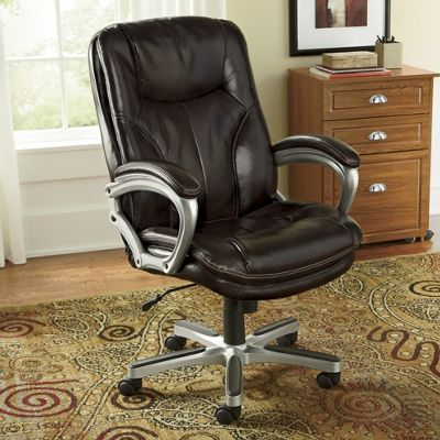 Executive Pillow-Top Office Chair by Serta