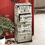Family Rules Cabinet