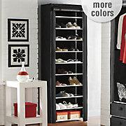 tall 10 layer shoe closet