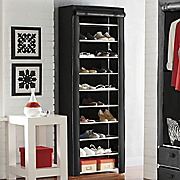 tall 10 layer shoe closet