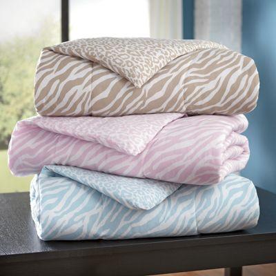 Animal Print Comforter Set