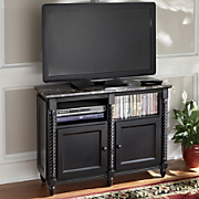 Nocturne Faux Marble Top TV Stand