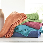 color pop woven blanket