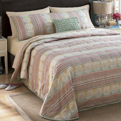 Ceylon 2-Piece Bedspread Set and Panel Pair