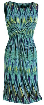 Francesca Cinched-Front Tank Dress