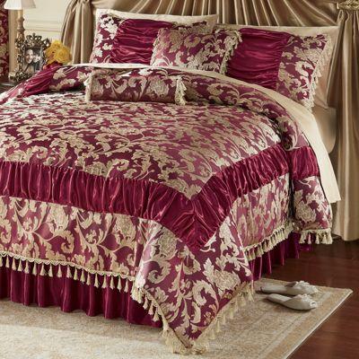 Allison Comforter and Pillows
