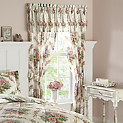 Cottage Rose Window Treatments