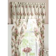 cottage rose panel pair