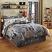 Warehouse District Complete Bedding Set, Panel Pair and Duffle Pillow